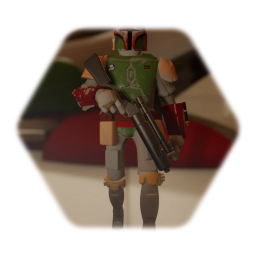 Cartoon Boba Fett