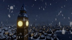 View from Westminster, Xmas 1893