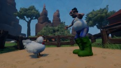 The farmer and the chicken