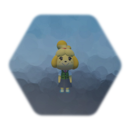 Isabelle Puppet but she dabs with square