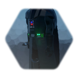 Darth Vader with right stick controlled Lightsaber (WIP)