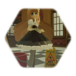 Pretty Anime Maid Doll