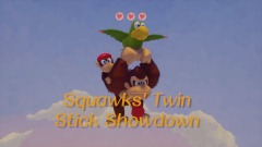 Konkey Dong Odyssey Minigame: Squawk's Twin Stick Showdown