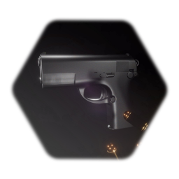 9mm Pistol (Remixable)