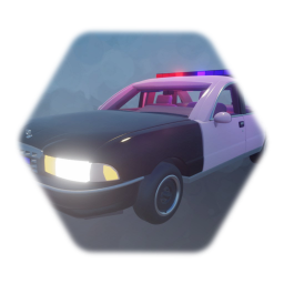 Police Car Remix With Detail