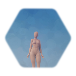 Seamless Realistic Female Body