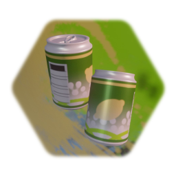 Soda Can open and unopened