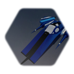 Spaceship - Slicer blue
