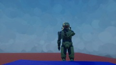 Master Chief Meets Baby Frisk