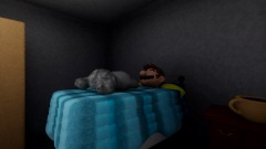 Mario sleeps with cats while listening to calming music 1