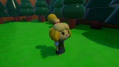 Animal Crossing Tom Nook     Tries To Get Isabelle's Money
