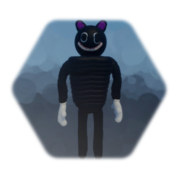 So I redid my old cartoon cat model