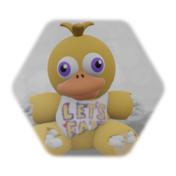 Withered Chica Plush