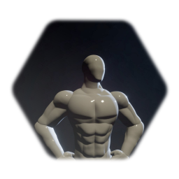 Male Superhero Build