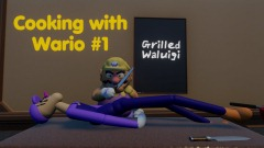 Cooking with Wario