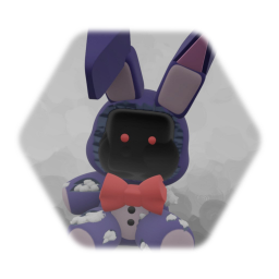 Withered Bonnie Plush