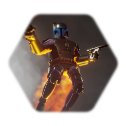 Cartoon Jango Fett