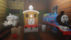 Percy's Ghostly Trick - Percy Tricks Thomas Clip REMAKE