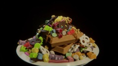 Candy Waffles