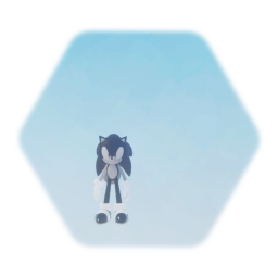 Me as Sonic
