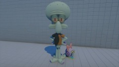 Squidward and Snellie (OLD) REMIXABLE