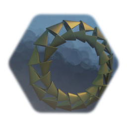 a ring - the one - golden - could also be a wheel or doorway ;)