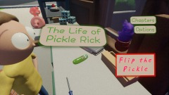 "Main Menu to ""The Life of Pickle Rick"""