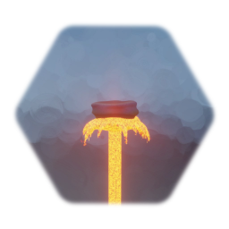 Lava Geyser (with movement & SFX)