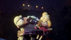 'Rule Breaker' but with Doomguy & Isabelle