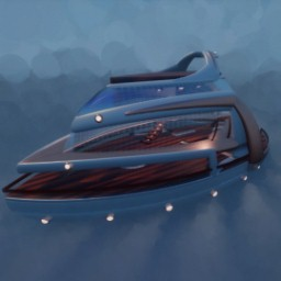 Drivable Yacht Boat