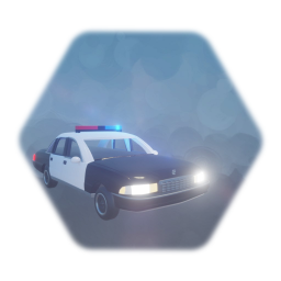 Police Car Prop Basic Detail
