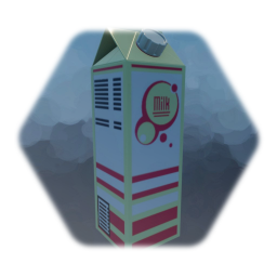 Colorful Milk Carton