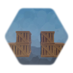 Wood Crate Bridge [Gap In The Middle]