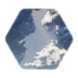 Dryreefs realistic clouds! (down pour, full animation )