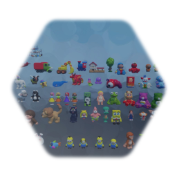 All Toys from Toy Store level