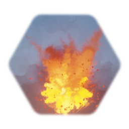 Explosion: Fireball with Flammable Ground