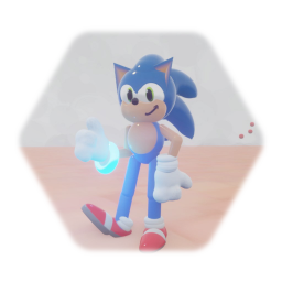 Sonic Puppet Made by Shadowplush16 but better