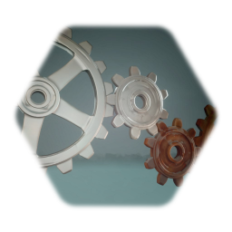 Gears with adjustable Rust