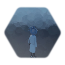 Rick with working gun and health bar