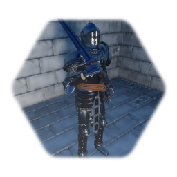 Amored Knight (with longsword)