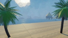 PlayStation Home: Glittering Sands Beach
