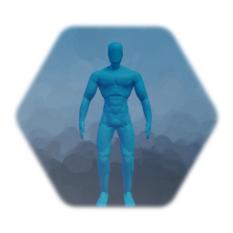 Muscular Male Puppet (Deluxe)