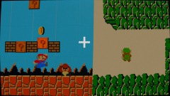 Super mario bros\zelda :Dreams edition 2D (update 2.2) w.i.p