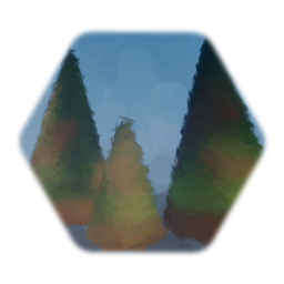 Distant Dry tree cluster