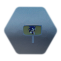 Sonic end level signpost (working)