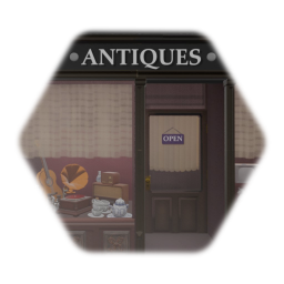 Old Store Antiques - LOW DETAIL