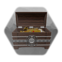 Chest of Gold and Treasure