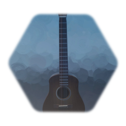 Working Acoustic Guitar