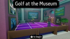 Golf at the Museum