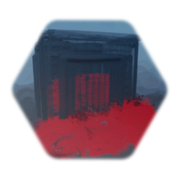 Bloody Cage Asset (Animated)